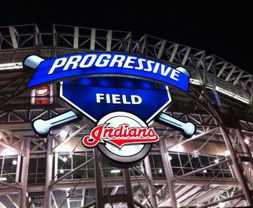 Progressive Field of Cleveland Indians