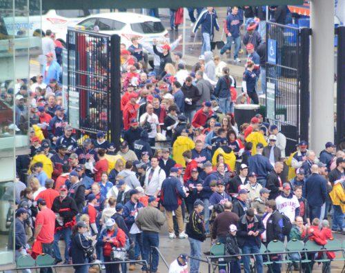 Cleveland Indians Progressive Field gate