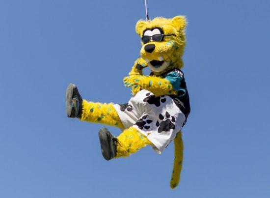 Jacksonville Jaguars mascot Jaxson de Ville
