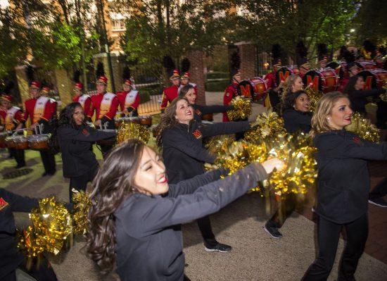 Maryland Terrapins cheerleaders