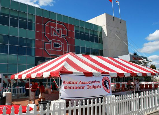 NC State Wolfpack alumni association tailgate