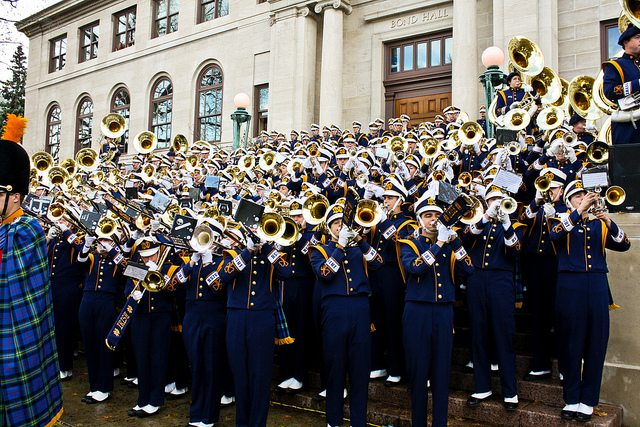 Notre Dame Tailgating