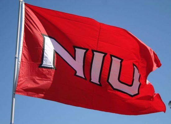 NIU Huskies football flag