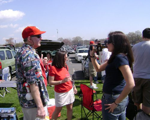Washington Nationals beer tailgate party