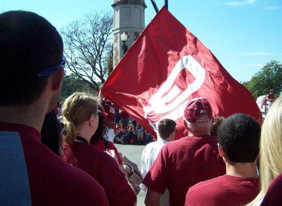 Oklahoma Sooners flag