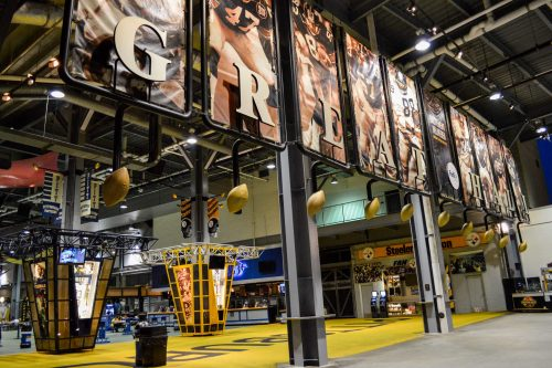 Heinz Field Concessions great hall