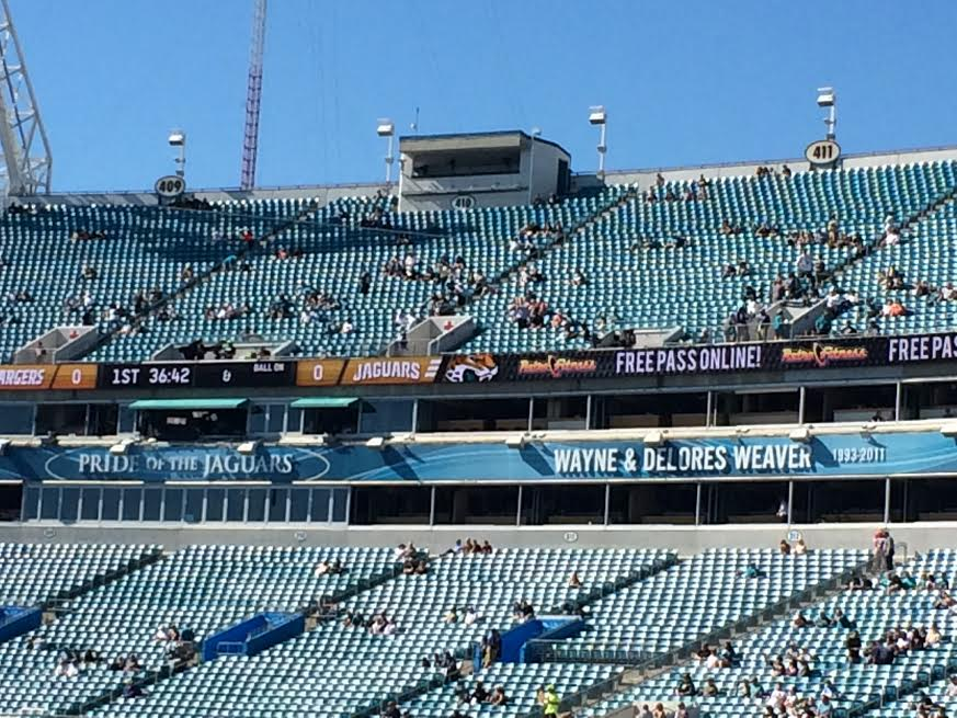 Pride of the Jaguars in TIAA Bank Field