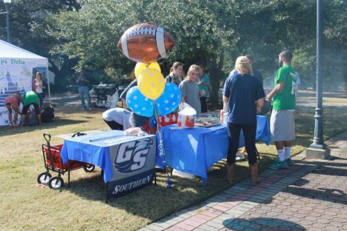 Student Tailgate Zone Georgia Southern Eagles
