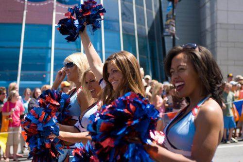 Tennessee Titans cheerleaders performance