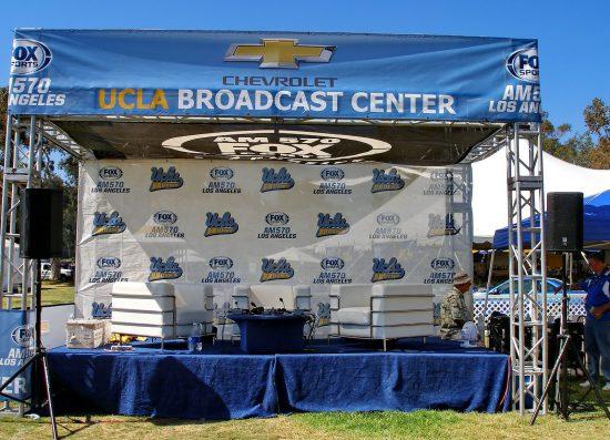 UCLA Bruins Chevrolet UCLA Broadcast Center