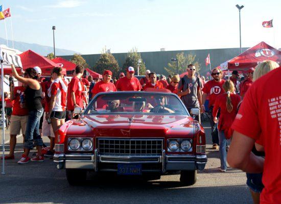 Utah Utes tailgate party