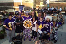 Viking World Order super fans NFL