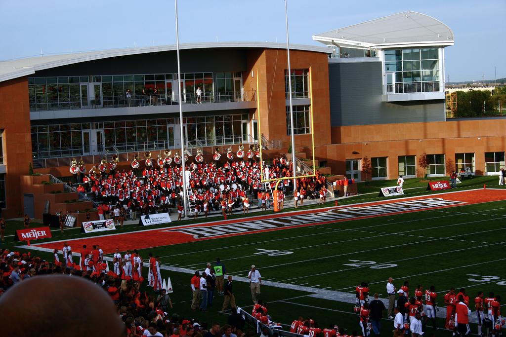 BGSU Falcons game at Doyt Perry Stadium