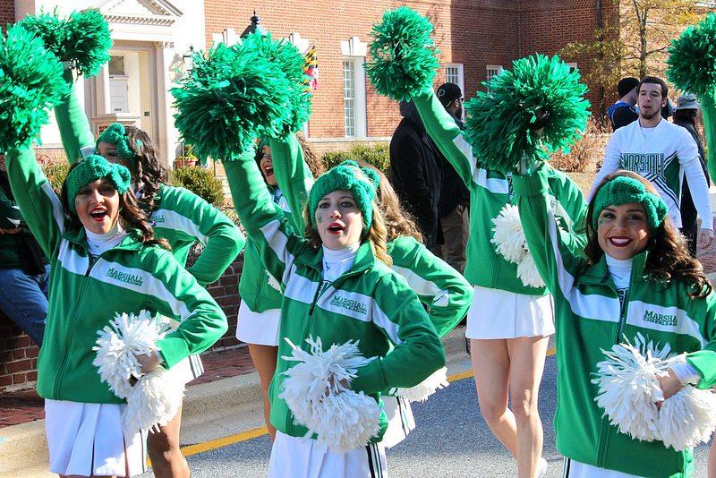 Marshall Thundering Herd cheerleaders