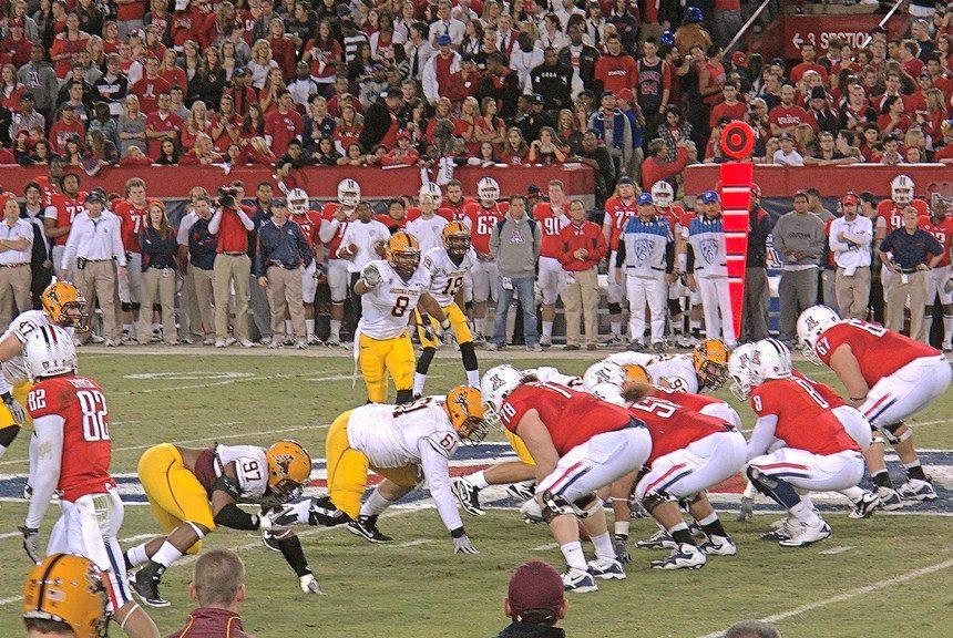 ASU Sun Devils vs UA Wildcats football game