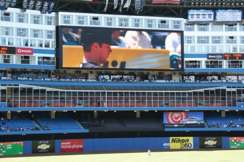 Rogers Center Windows Restaurant Sightlines