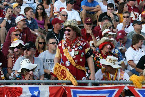 Hogettes wear pig snouts tradition on Washington Redskins game day