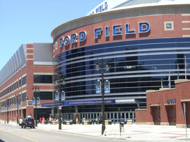 Ford Field Detroit Lions stadium