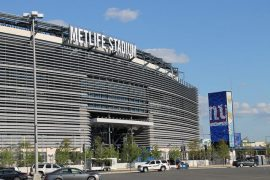 home of the New York Giants MetLife Stadium