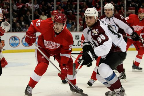 Colorado Avalanche vs Detroit Red Wings game