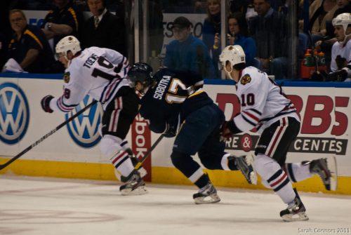 Chicago Blackhawks vs St Louis Blues game