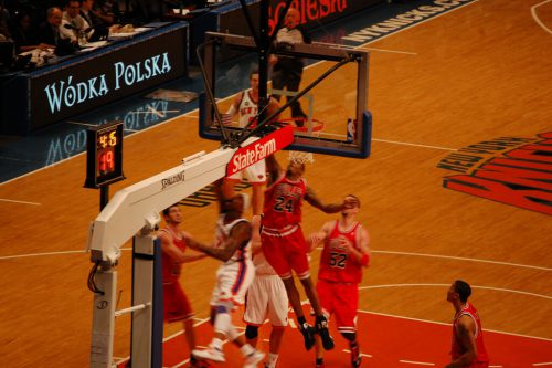 Chicago Bulls vs New York Knicks game