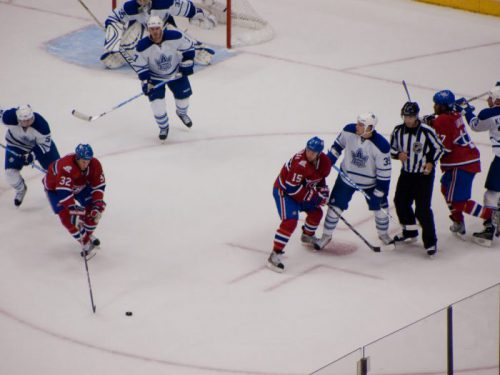 Toronto Maple Leafs vs Montreal Canadiens game