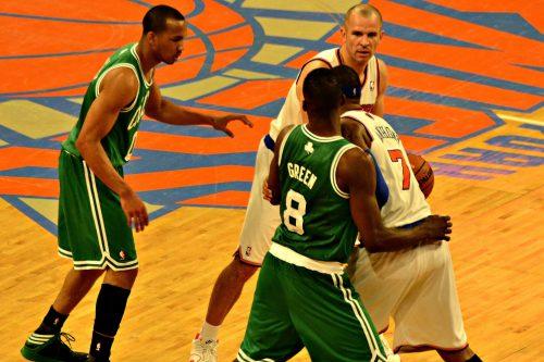 Boston Celtics vs New York Knicks game