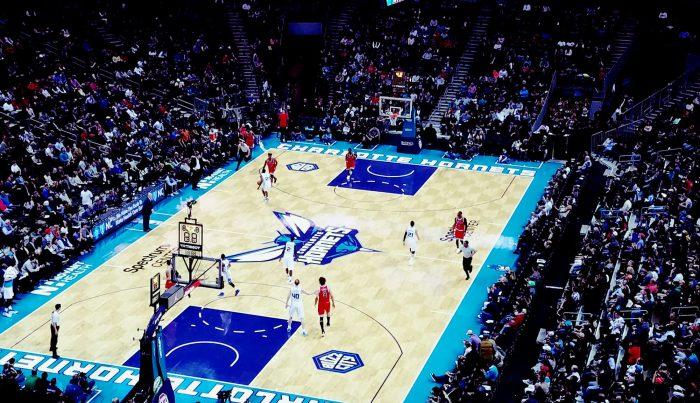 Charlotte Hornets vs Chicago Bulls game