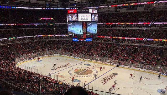 Chicago Blackhawks vs Nashville Predators game