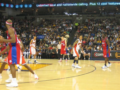 Los Angeles Clippers vs Washington Wizards game