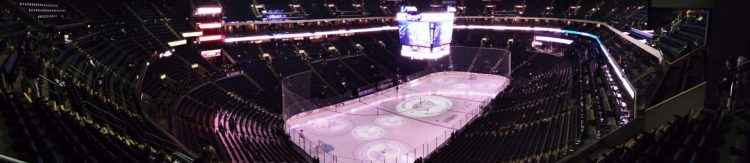 Nationwide Arena panorama