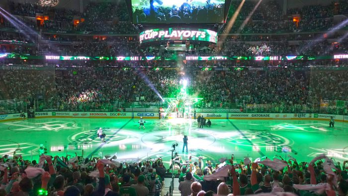 Dallas Stars game Stanley Cup second round