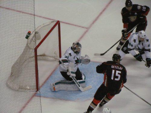 Anaheim Ducks vs San Jose Sharks game