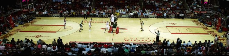 Houston Rockets vs Houston Rockets game
