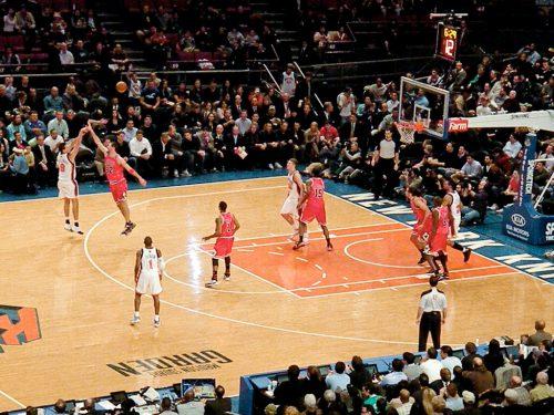 New York Knicks vs Chicago Bulls game