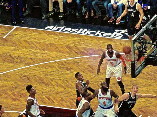 Brooklyn Nets vs New York Knicks game
