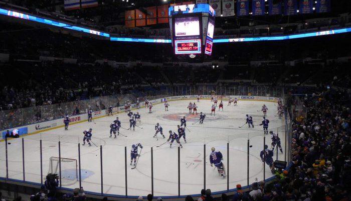 New York Islanders vs Carolina Hurricanes game