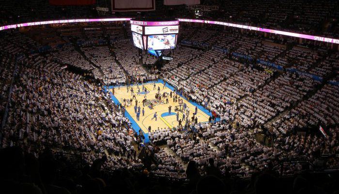Chesapeake Energy Arena Oklahoma Thunder
