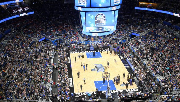 Orlando Magic basketball game