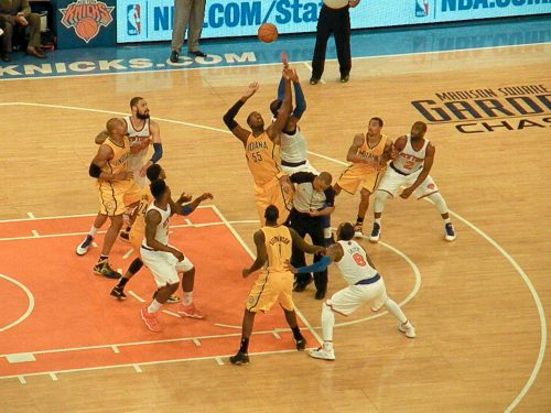Indiana Pacers vs New York Knicks game