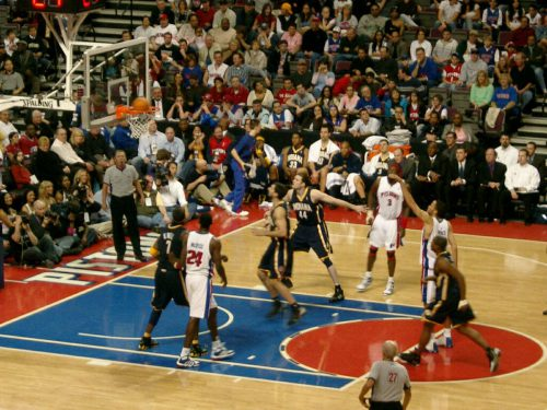Indiana Pacers vs Detroit Pistons game