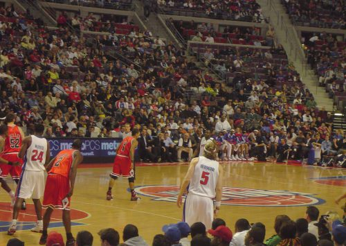 Detroit Pistons vs Chicago Bulls game