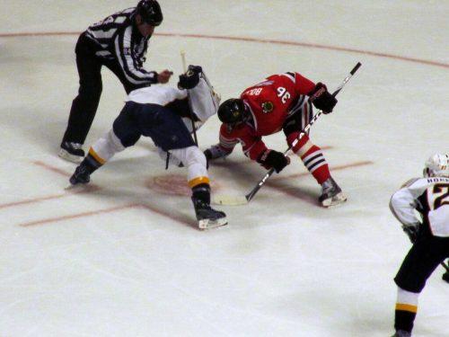 Nashville Predators vs Chicago Blackhawks game