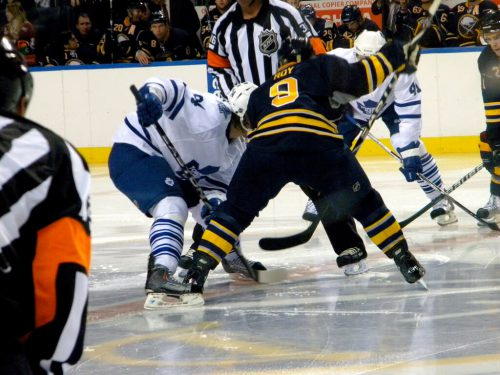Buffalo Sabres vs Toronto Maple Leafs game
