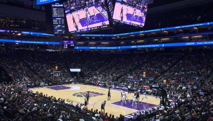 Sacramento Kings game scoreboard