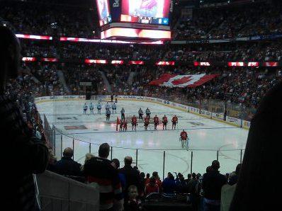 Ottawa Senators vs Toronto Maple Leafs game