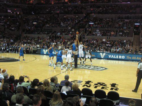 San Antonio Spurs vs Dallas Mavericks game