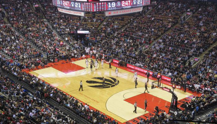 Toronto Raptors win game against Brooklyn Nets