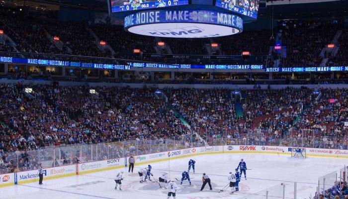 Dallas Stars vs Vancouver Canucks game